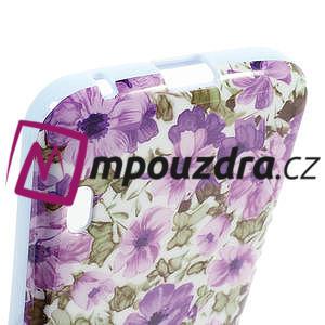 Gelová puzdro pre LG Optimus L5 Dual E455- živé květy - 4