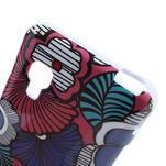 Gelová puzdro pre LG Optimus L5 Dual E455- kreslené květy - 4/4