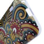 Gelová puzdro pre LG Optimus L5 Dual E455- kmenové květy - 4/4