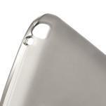 Matné gélové puzdro pre LG Optimus L5 Dual E455- sivé - 4/4