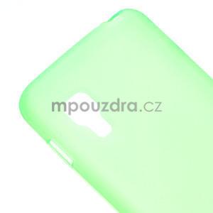 Matné gélové puzdro pre LG Optimus L5 Dual E455- zelené - 4