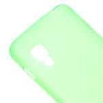 Matné gélové puzdro pre LG Optimus L5 Dual E455- zelené - 4/6