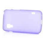 Matné gélové puzdro pre LG Optimus L5 Dual E455-fialová - 4/4