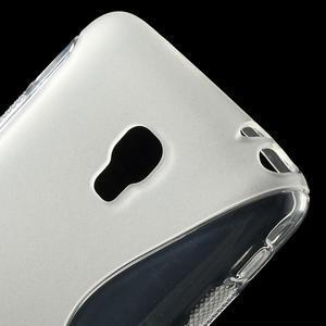 Gélové S-line puzdro na LG Optimus F6 D505- transparentný - 4