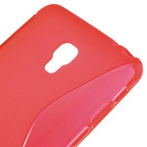 Gélové S-line puzdro na LG Optimus F6 D505- červené - 4