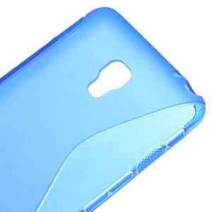 Gélové S-line puzdro na LG Optimus F6 D505- modré - 4