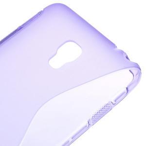 Gélové S-line puzdro na LG Optimus F6 D505- fialové - 4