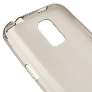 Gélové matné puzdro pre Samsung Galaxy S5 mini G-800- šedé - 4