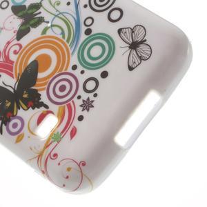 Gélové puzdro na Samsung Galaxy S5 mini G-800- motýli - 4