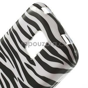 Gélové puzdro pre Samsung Galaxy S5 mini G-800- zebrovité - 4