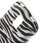 Gélové puzdro pre Samsung Galaxy S5 mini G-800- zebrovité - 4/5