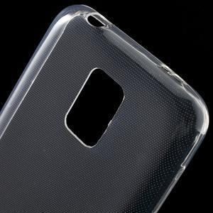 Gélové 0.6mm puzdro pre Samsung Galaxy S5 mini G-800- transparentný - 4