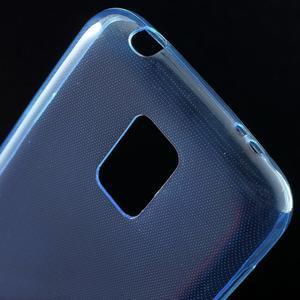 Gelové 0.6mm pouzdro na Samsung Galaxy S5 mini G-800- modré - 4