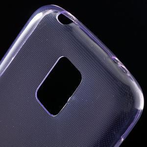 Gelové 0.6mm pouzdro na Samsung Galaxy S5 mini G-800- fialové - 4