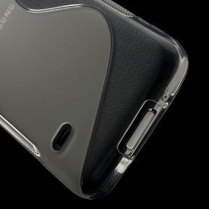 Gelové S-line pouzdro na Samsung Galaxy S5 mini G-800- transparentní - 4
