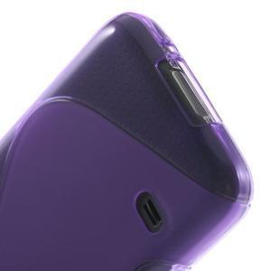 Gelové S-line pouzdro na Samsung Galaxy S5 mini G-800- fialové - 4