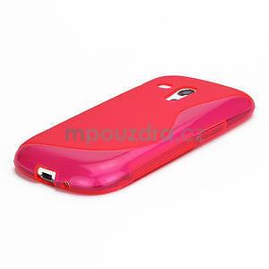 Růžové gélové puzdro pre Samsung Galaxy S3 mini / i8190 - 4