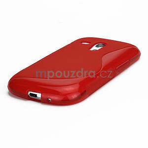 Červené gélové puzdro pre Samsung Galaxy S3 mini / i8190 - 4