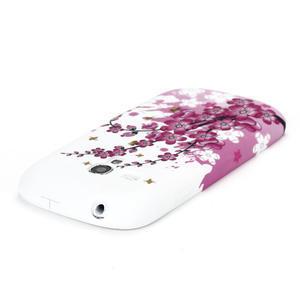 Gélové puzdro pre Samsung Galaxy S3 mini i8190- květiny - 4
