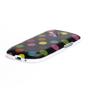 Gélové puzdro PUNTÍK pre Samsung Galaxy S3 mini i8190- černofarebné - 4