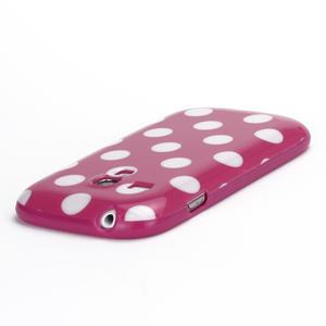 Gélové puzdro PUNTÍK pre Samsung Galaxy S3 mini i8190- růžové - 4