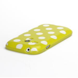 Gélové puzdro PUNTÍK pre Samsung Galaxy S3 mini i8190- žlté - 4