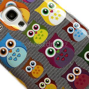 Gélové puzdro pre Samsung Galaxy S3 mini / i8190 - mini Sovy - 4
