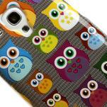 Gélové puzdro pre Samsung Galaxy S3 mini / i8190 - mini Sovy - 4/5