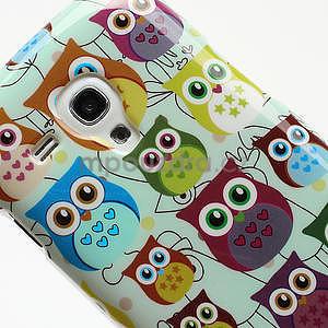 Gélové puzdro pre Samsung Galaxy S3 mini / i8190 - mini Sovy II - 4