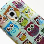 Gélové puzdro pre Samsung Galaxy S3 mini / i8190 - mini Sovy II - 4/5