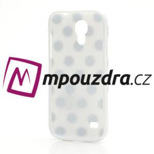Gélový Puntík pro Samsung Galaxy S4 mini i9190- biele - 4