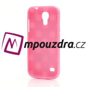 Gelový Puntík pro Samsung Galaxy S4 mini i9190- světlerůžové - 4