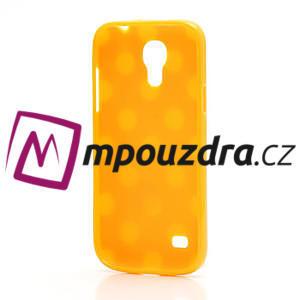 Gélový Puntík pro Samsung Galaxy S4 mini i9190- oranžové - 4