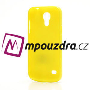 Gélový Puntík pro Samsung Galaxy S4 mini i9190- žlutá - 4