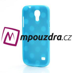 Gélový Puntík pro Samsung Galaxy S4 mini i9190- modrá - 4