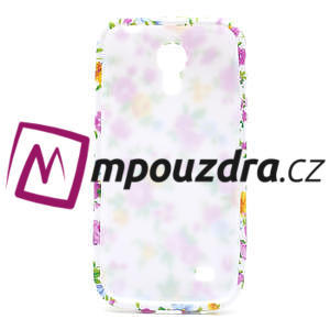 Gélové puzdro pro Samsung Galaxy S4 mini i9190- elegantní kvetina - 4