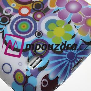 Gélové puzdro pro Samsung Galaxy S4 mini i9190- farebné kvety - 4