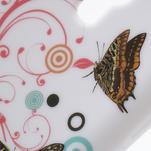 Gelové pouzdro pro Samsung Galaxy S4 mini i9190- kruhový motýl - 4/5