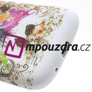 Gélové puzdro pro Samsung Galaxy S4 mini i9190- farebný motýl - 4