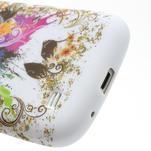 Gélové puzdro pro Samsung Galaxy S4 mini i9190- farebný motýl - 4/5