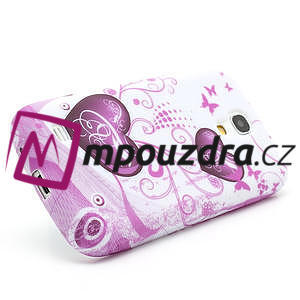 Gelové pouzdro pro Samsung Galaxy S4 mini i9190- dvě srdce - 4