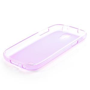 Gélové puzdro na Samsung Galaxy S4 mini i9190- fialové - 4