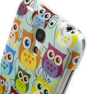 Gelové pouzdro na Samsung Galaxy S4 mini i9190- krásné sovy - 4