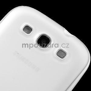 Gelové rámované pouzdro na Samsung Galaxy S3 i9300- transparentní - 4