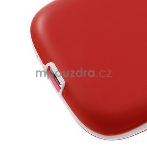 Gelové rámované pouzdro na Samsung Galaxy S3 i9300- červené - 4