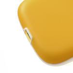 Gélové rámované puzdro pre Samsung Galaxy S3 i9300- žlté - 4/6