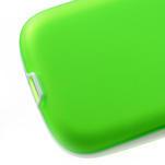 Gelové rámované pouzdro na Samsung Galaxy S3 i9300- zelené - 4/6