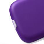 Gelové rámované pouzdro na Samsung Galaxy S3 i9300- fialové - 4/6