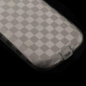 Gélové koskaté puzdro na Samsung Galaxy S3 i9300- šedé - 4
