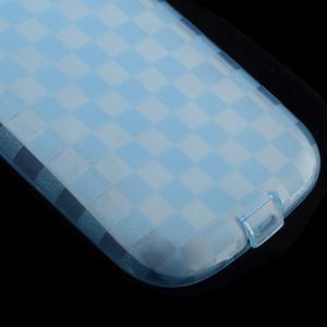 Gélové koskaté puzdro na Samsung Galaxy S3 i9300- modré - 4